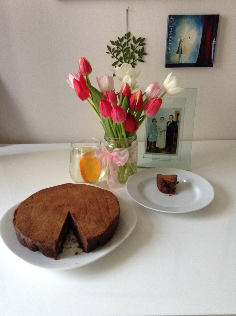 My Easter Sunday Flourless Chocolate Cake
