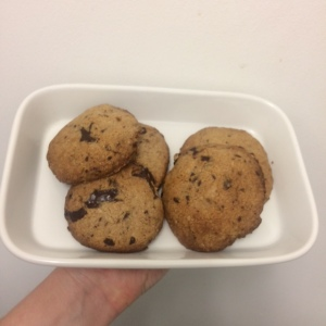 Tahini Oat with Chocolate Cookies